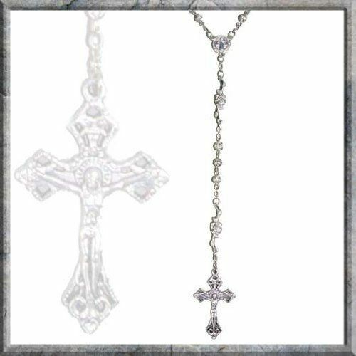 Stunning Rosary Alloy Beads with Crucifix Nemesis Now