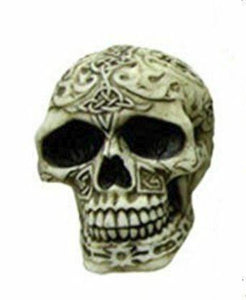 Celtic Style Skull Gothic Horror Gift Decor Ornament Halloween