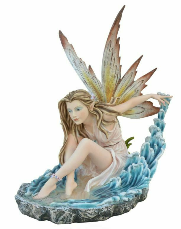 Large Water Fairy Sculpture Statue Mythical Creatures Figure Gift Home Ornament