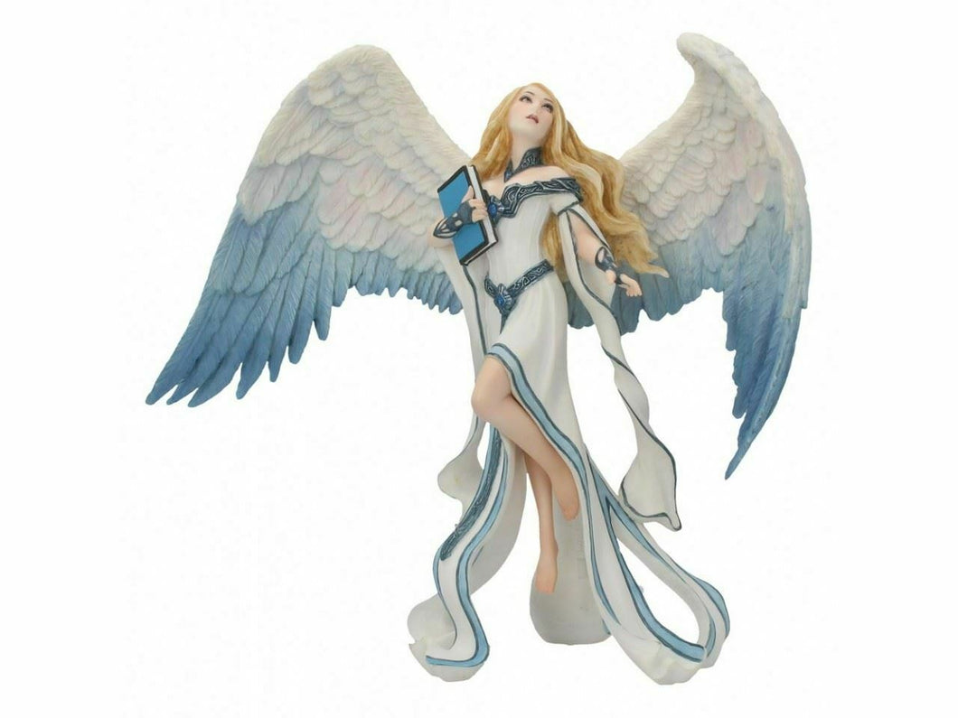 Stunning Angel Light Messenger Sculpture Statue Ornament Home Decoration  22.5cm