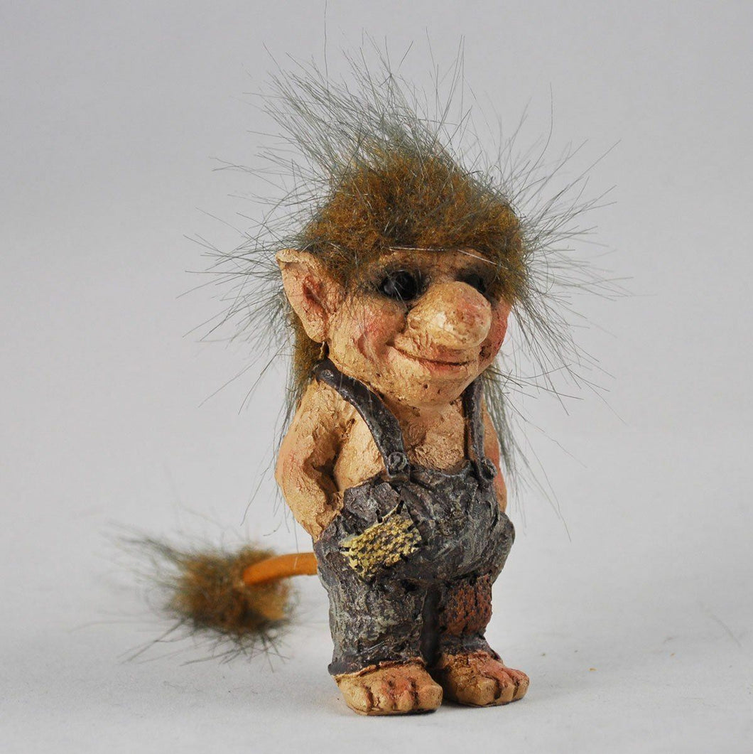Troll Hands in Pockets  Ornament Gift Statue Figurine Home Figure Decor