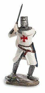Templar Knight Battle Ready With Sword