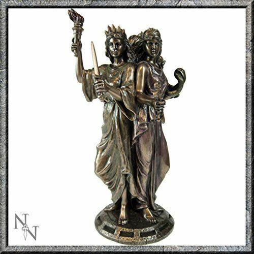 Greek Goddess Hekate Goddess Magic Triple Figurine Wiccan Pagan Hecate Statue