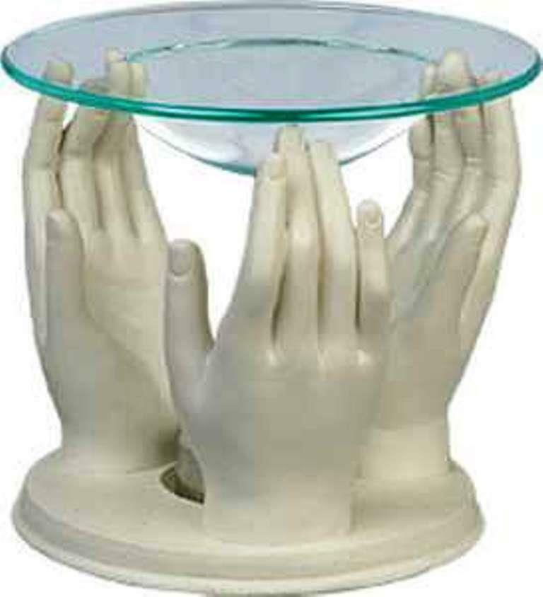 Novelty Hands Oil Burner Warmer Home Decoration Aromatherapy