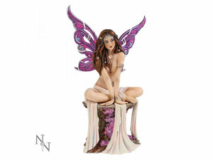 Nemesis Now Jewelled Fairy Amethyst Figurine Statue Figure Gothic Myths Legends