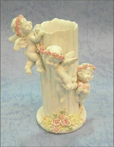 Guardian Angel Figurine Cherub Candle Holder Statue Ornament Sculpture Gift