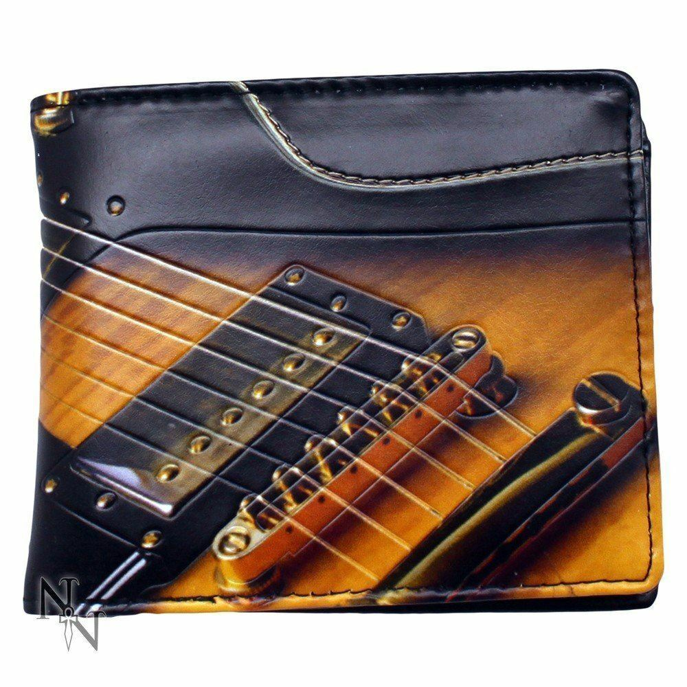 Electric Guitar Mens Wallet 11m Nemesis Now