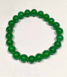 Beautiful Malai Jade Power Beaded Bracelet Meditation Yoga