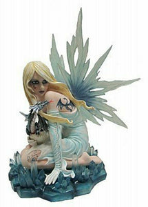 Large Elemental Fairy Dragon Companion Statue Ornament Fantasy Sculpture Gift