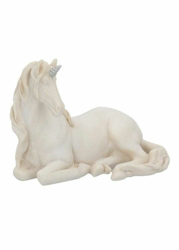 Novelty Sculpture White Unicorn Magical Mystical Figurine Ornament