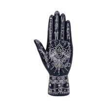Load image into Gallery viewer, Hamsa Hand Sculpture Evil Eye Protection Ornament Hand of Goddess Decoration