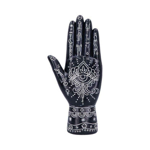 Hamsa Hand Sculpture Evil Eye Protection Ornament Hand of Goddess Decoration
