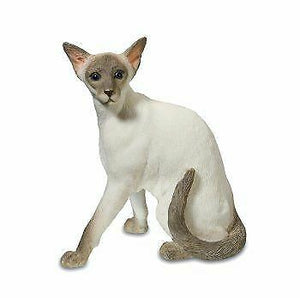 Novelty Siamese Cat Figurine Ornament Cat Lover Ideal Gift