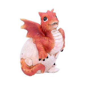 Adorable Red Baby Dragon Figurine Magical Sculpture Ornament Dragons Gifts