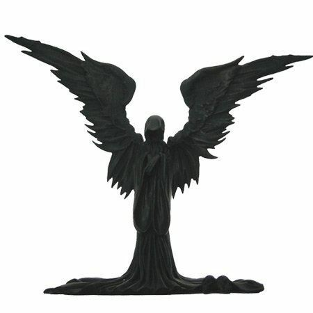 Angel of Death Gothic Statue Gothic Reaper Statue Ornament