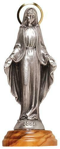 Virgin Mary Our Lady of the Miraculous Statue Religious Ornament