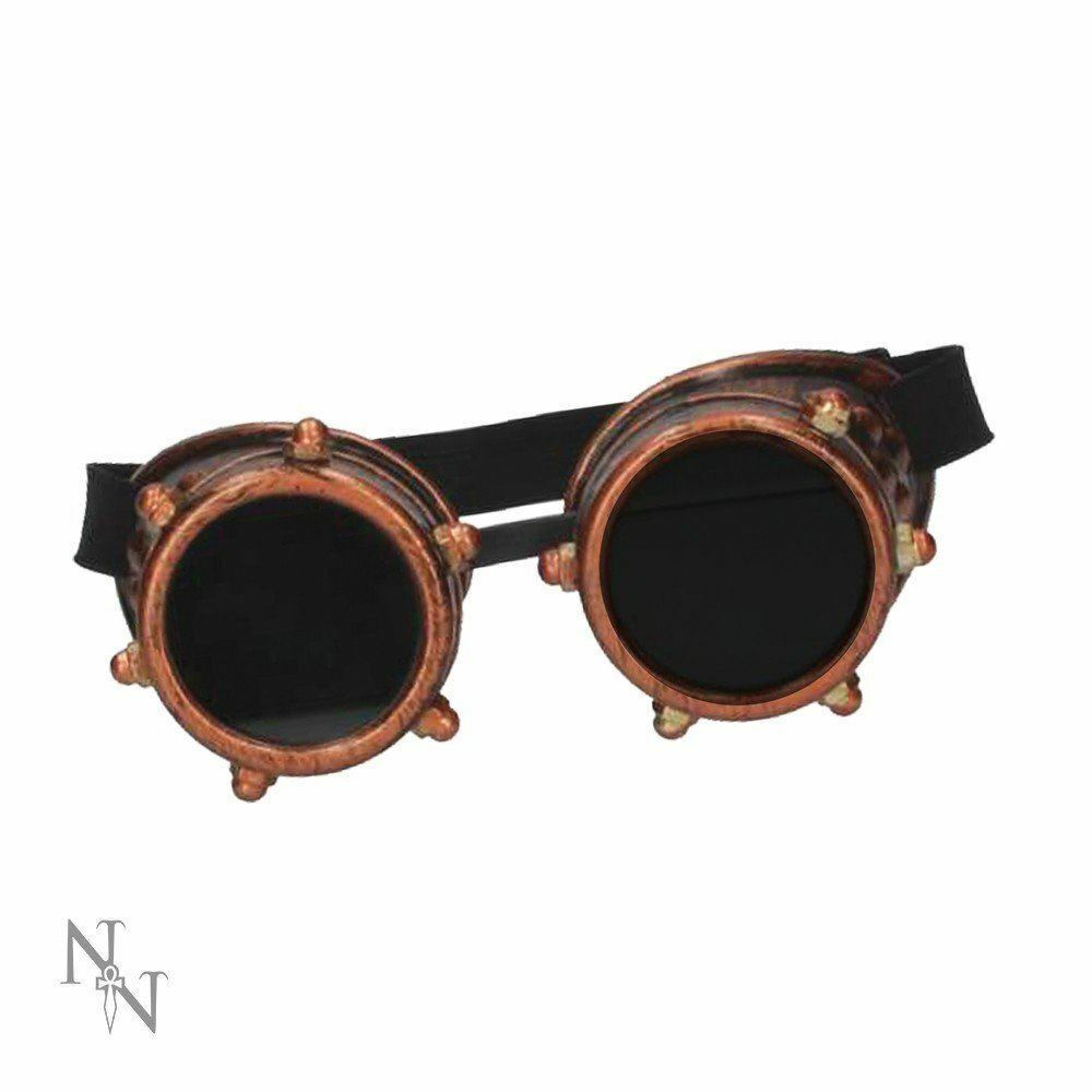 INDUSTRIAL GAZE 16cm STEAMPUNK WELDING GOGGLES from NEMESIS NOW