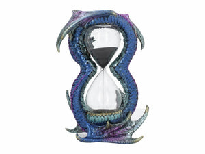 Dragon Sandtimer Timekeeper Ornament Statue Fantasy Figurine for Study Office