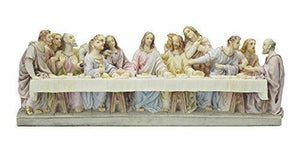 Jesus Christ Last Supper Veronese Statue Figurine Sculpture Religious Ornament