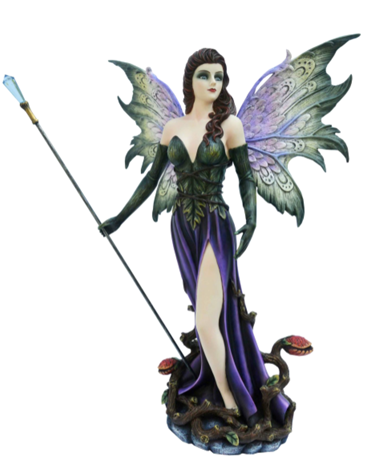 Large Shaman Forest Fairy Magical Sculpture Statue Ornament Decoration Gift