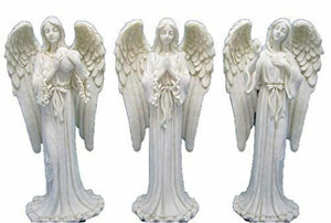 Beautiful Praying Angel Ornament Quality Statue Home Decoration Religious Gift