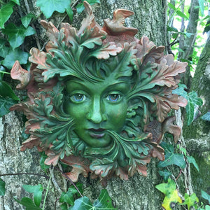 Green Spirit Large Greenman Decorative Garden Wall Plaque