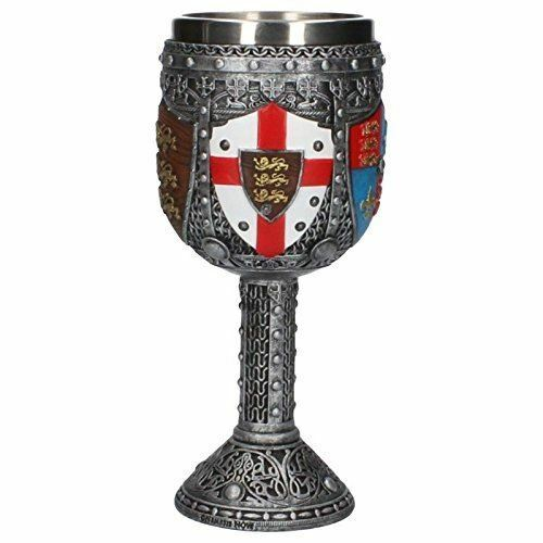 Medieval Times Crusader Knight Goblet Removable Stainless Steel