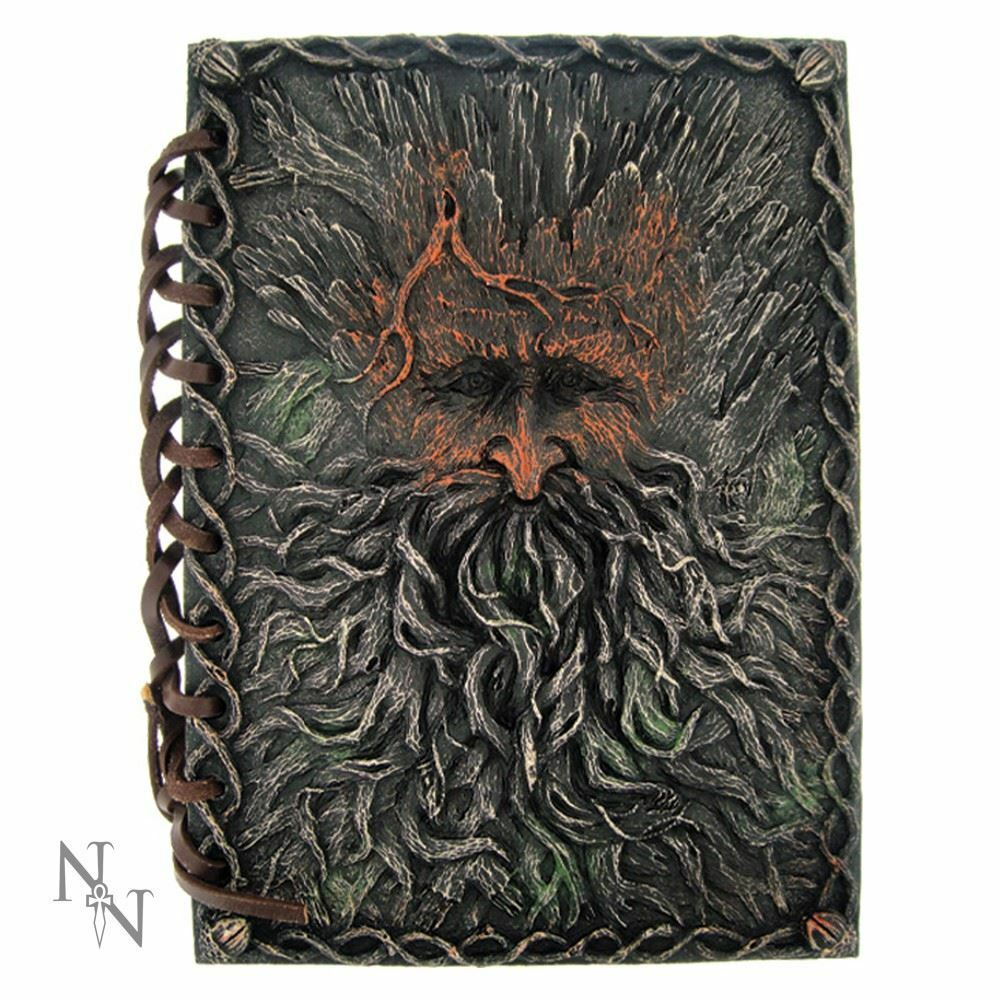 Nemesis Now Green Man Notebook Tree Beard Journal Diary Wiccan Pagan
