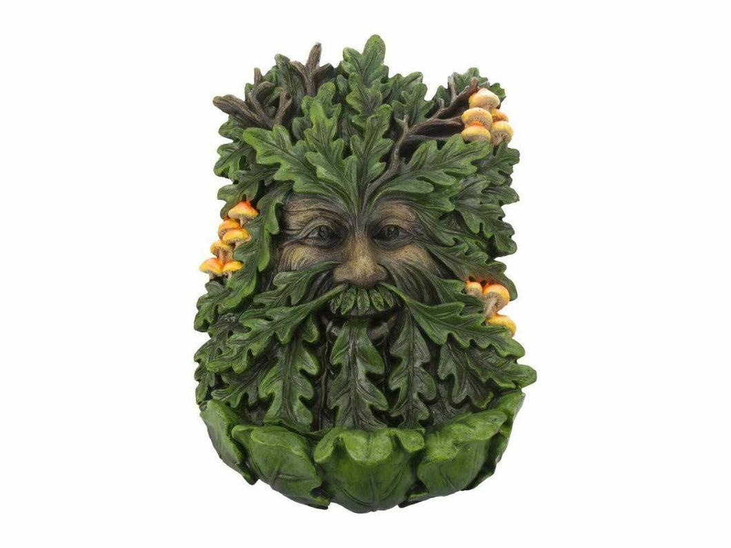 Elderwood Tree Spirit Wall Plaque Green Man Decor Wiccan Pagan Decoration