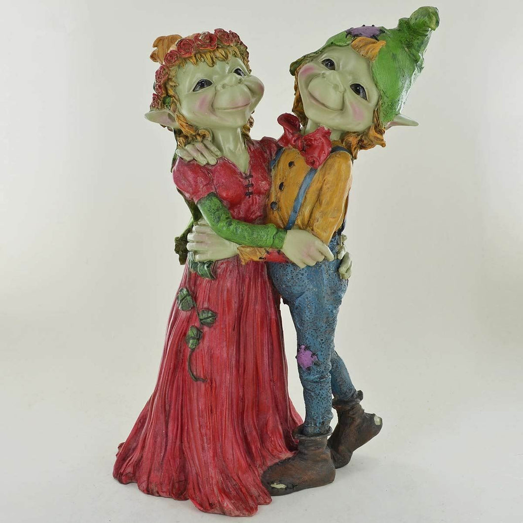 Pixie Wedding Couple Ornament Garden Ornament Fantasy Sculpture Anthony Fisher