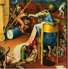 Load image into Gallery viewer, Devil on Night Chair Sculpture Statue Museum Reproduction Hieronymus Bosch