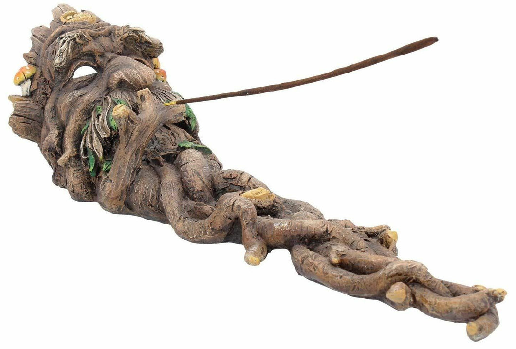 Forest Spirit Incense Holder Greenman Tree Man Wiccan Pagan Burner 33.5cm