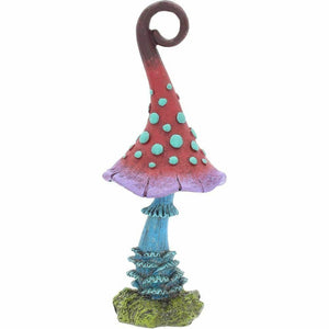 Mystic Magic Mugwump Fairy Mushroom Toadstool Garden Ornament Figurine Pixie Elf
