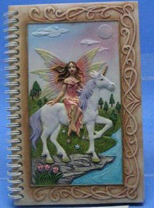 Enchanted Fairy and Unicorn Journal Blank Notepad