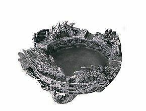 Stone Effect Celtic Dragon Ashtray Ornament Gothic Decoration or Gift