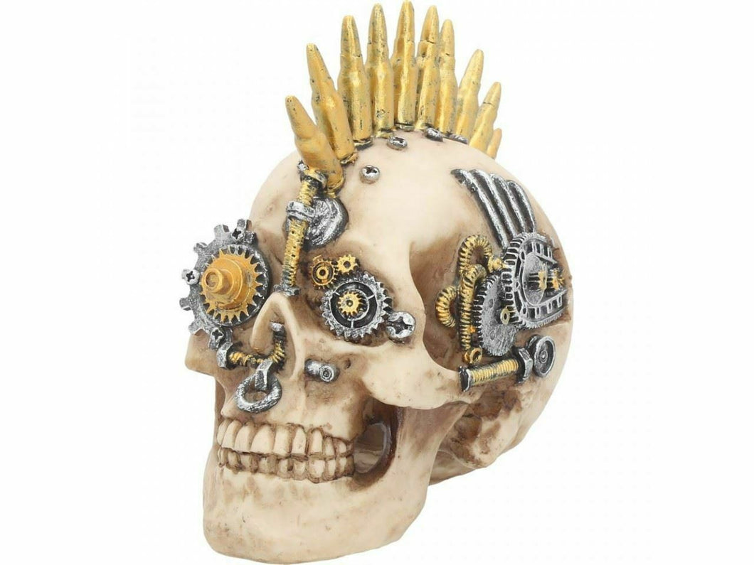 Gears of War Steampunk Mohican Small Skull Figurine 17.5cm