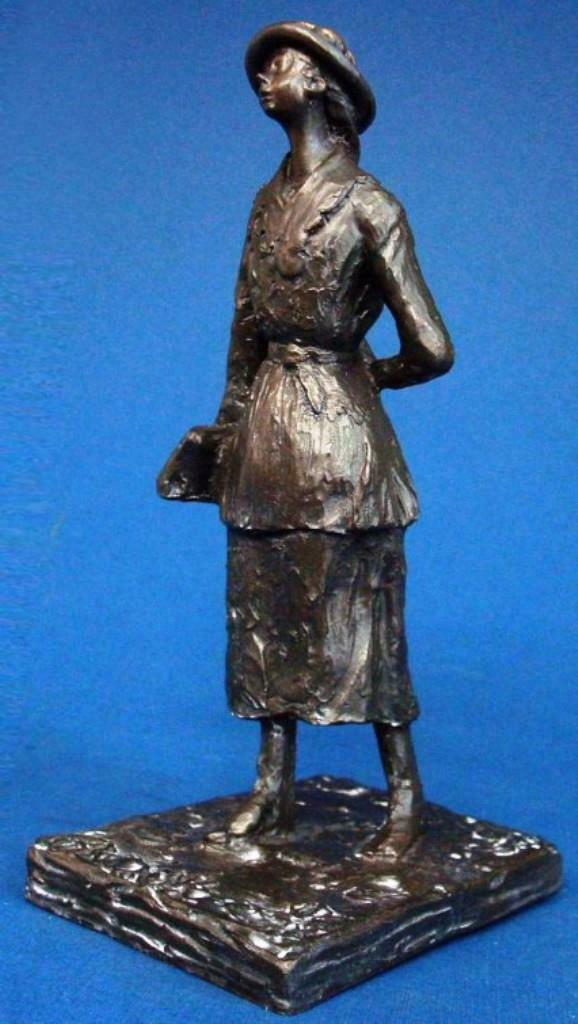 Schoolgirl DEGAS Sculpture Statue Museum Reproduction Gift Idea