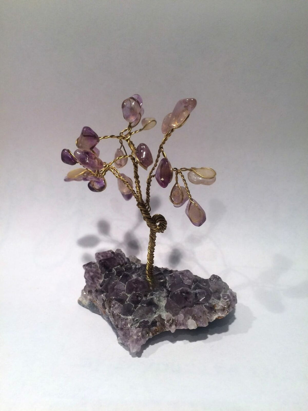 Amethyst Gemstone Crystal Tree