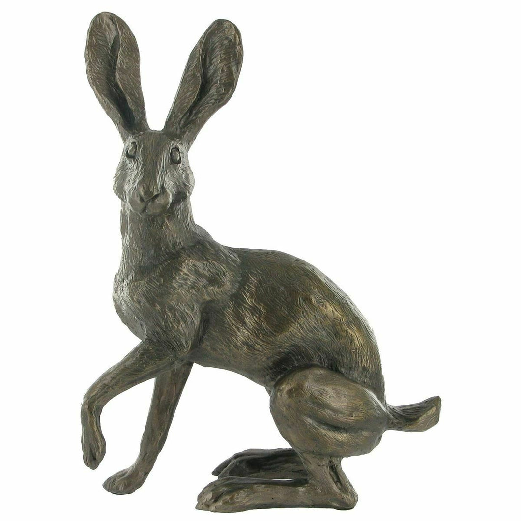 Bronze Hare Sculpture Harriet Glen Statue Hares Gifts Figurine Statue Rabbit