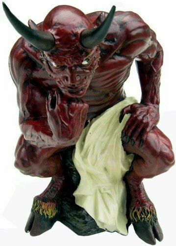 Diabolos Demon Figurine Gothic Decor Ornament Statue Devil Figure