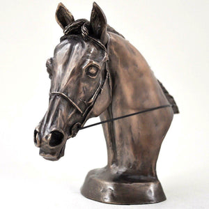 Harriet Glen Sculpture Horse Head Bust Statue Ornament