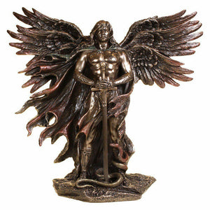 Archangel Metradon Cold Cast Bronze Sculpture by Veronese Studio