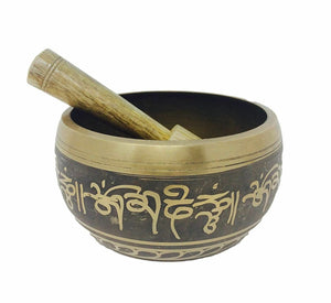 Tibetan Buddha Meditation Singing Bowl Set