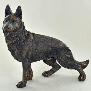 German Shepherd Alsatian Dog Sculpture Statue Ornament Dog Lover Gift