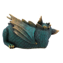 Load image into Gallery viewer, Magical Sculpture Green Dragon Figurine Resin Ornament Figure Dragons Gifts