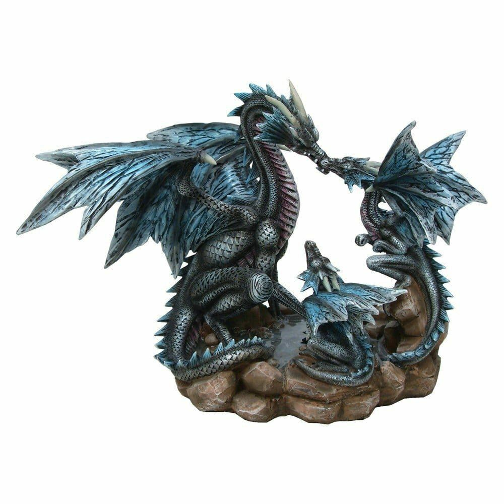 DRAGONS NEST MOTHER AND BABY DRAGONS FIGURE 26CM NEMESIS NOW SCULPTURE FIGURINE