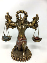 Load image into Gallery viewer, Egyptian Style God Anubis Statue Bronze Effect Afterlife Judgment Statue Figure