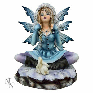 Nemesis Now Snowbell Winter Fairy Figurine Magical Statue Sculpture Ornament
