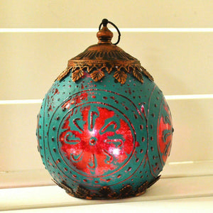 Moroccan Hanging Lantern LED String Light Home Decoration Nightlight Gift