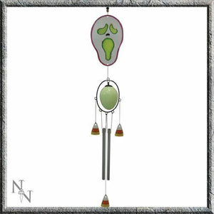 Windchime/Wind Chime ~ Flouresent Skeleton Wind Chime